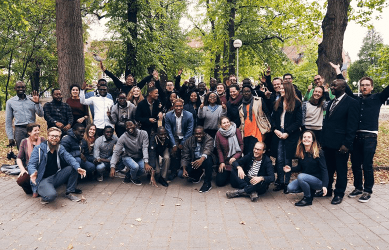 Participants, Alumni and Partners of the Autumn School for Sustainable Entrepreneurship 2018 in Stuttgart, Germany. Copyright: Markus Karl
