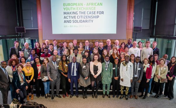Participants of the European-African Conference. Photo: Neil Baynes