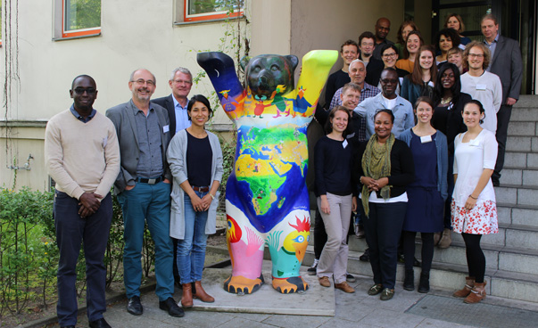 Participants of the workshop in Berlin. Photo: Engagement Global